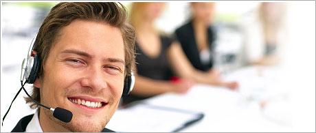 A 24x7 client support service