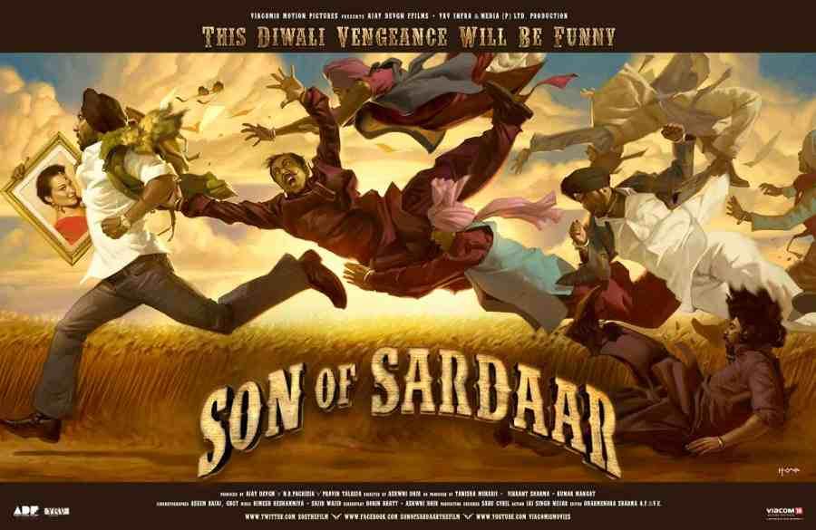 Son of Sardaar 2012 Movies Free downloads watch online full free bollywood Hindi cinema films