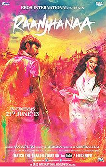 Raanjhanaa bollywood Movies