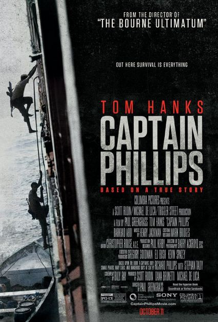 Captain Phillips (2013) Movie Poster