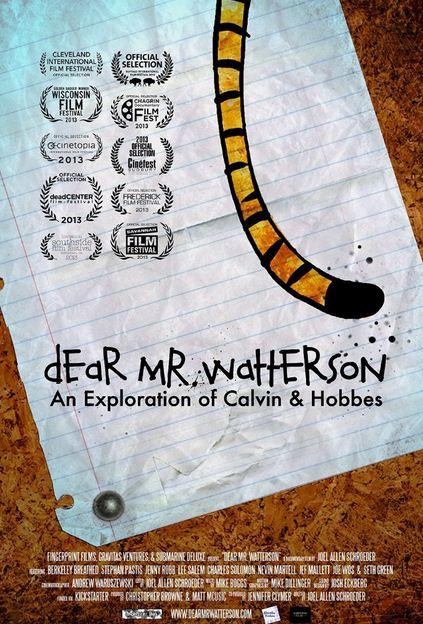 Dear Mr. Watterson (2013) Movie Poster