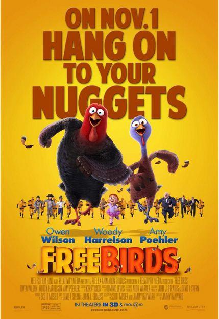 Free Birds 2013 Movie Poster