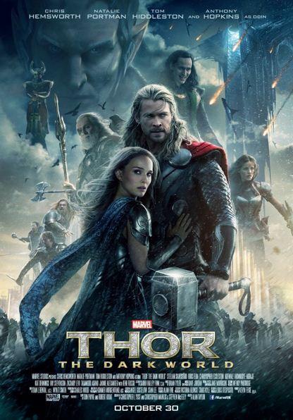 Thor The Dark World 2013 Movie Poster