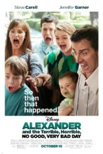 Alexander and the Terrible Horrible No Good Very Bad Day 2014 Movie